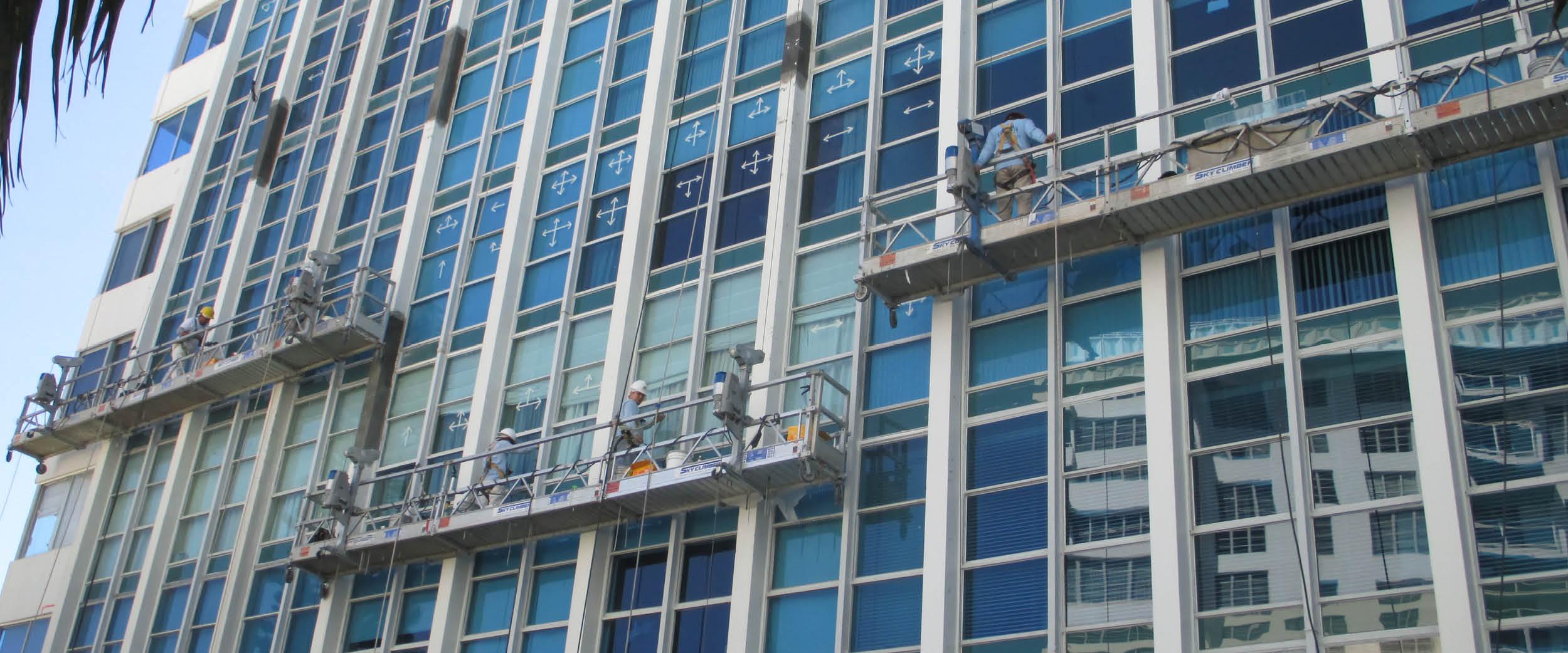testing façade access equipment - HD2500×1042