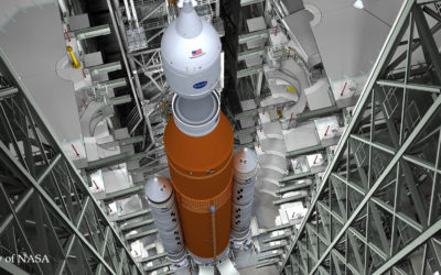 Rocket fuel-tank hoist system for NASA