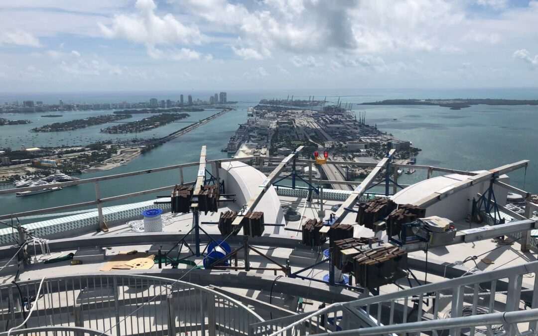 Sky Climber at One Thousand Museum Tower, Miami